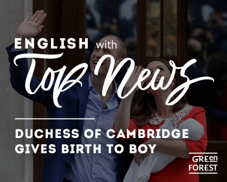 Top News: Duchess of Cambridge gives birth to boy