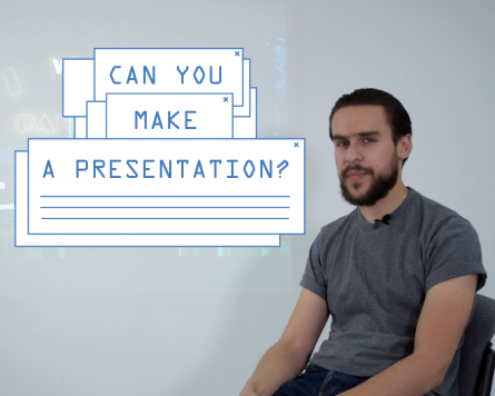 Can you make a presentation?