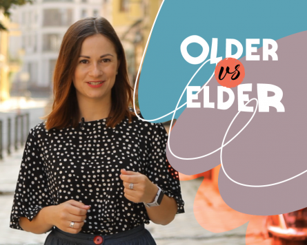 By the way with Alina Demiduk. Older VS. Elder.