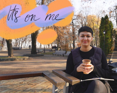 On the go with Katya Yarema: It's on me