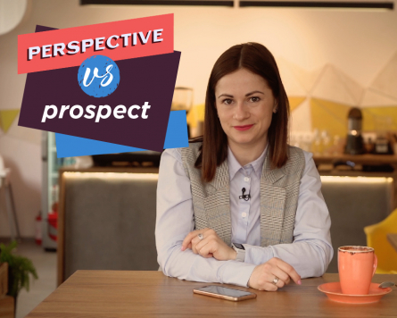 By the way with Alina Demiduk. Perspective VS Prospect.