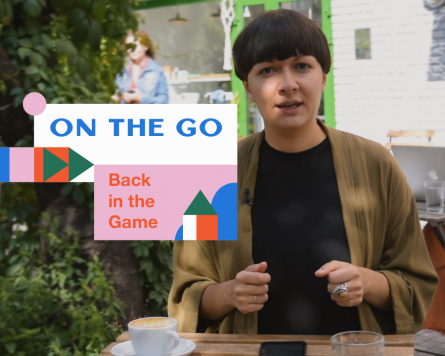 On the go with Katya Yarema: Back in the game