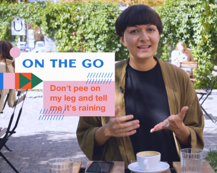 On the go with Kate Yarema: Don't pee on my leg and tell me it's raining