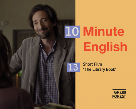 "10 Minute English – 13. Short Film ""The Library Book"""
