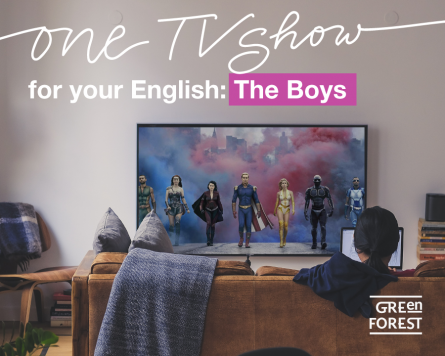 One TV show for your English - серіал The Boys