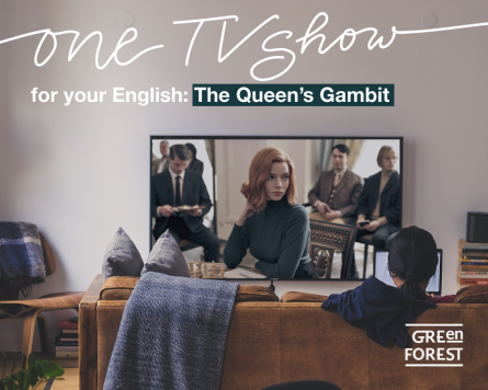 One TV show for your English - The Queen's Gambit